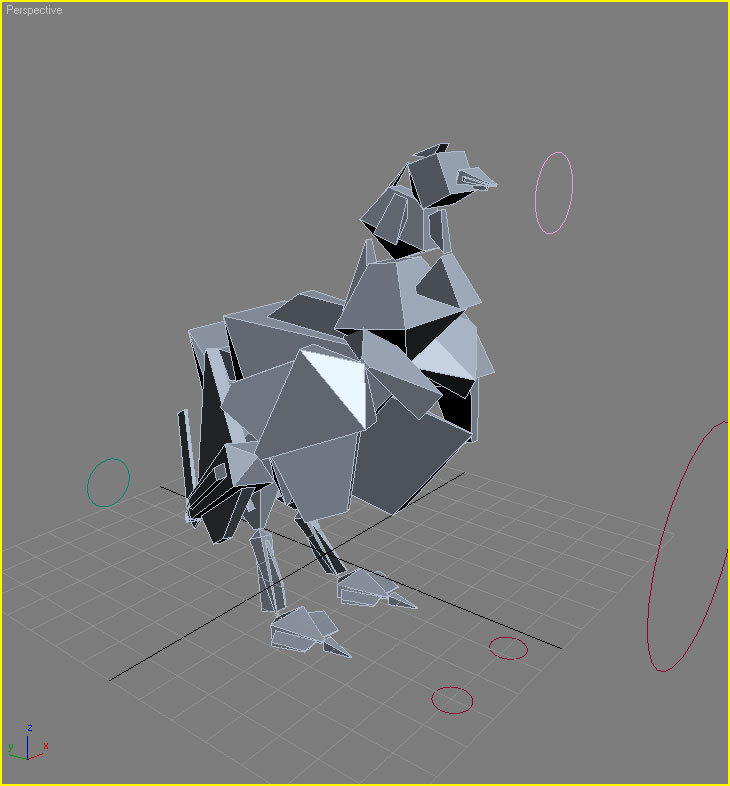 Chicken digipiph 3d model sites