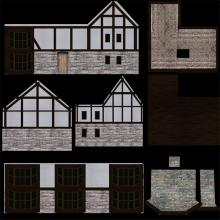 3D Model Elizabethan House Map