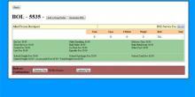 Freight Master BOL Screen